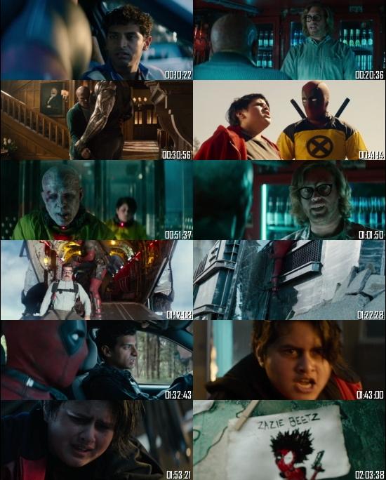 Deadpool 2 2018 BRRip 720p 480p Dual Audio Hindi English Full Movie Download