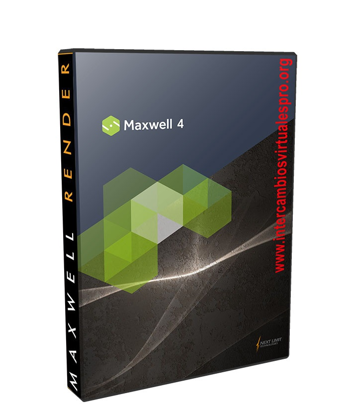 NextLimit Maxwell Render Studio 4.0.1.1 poster box cover