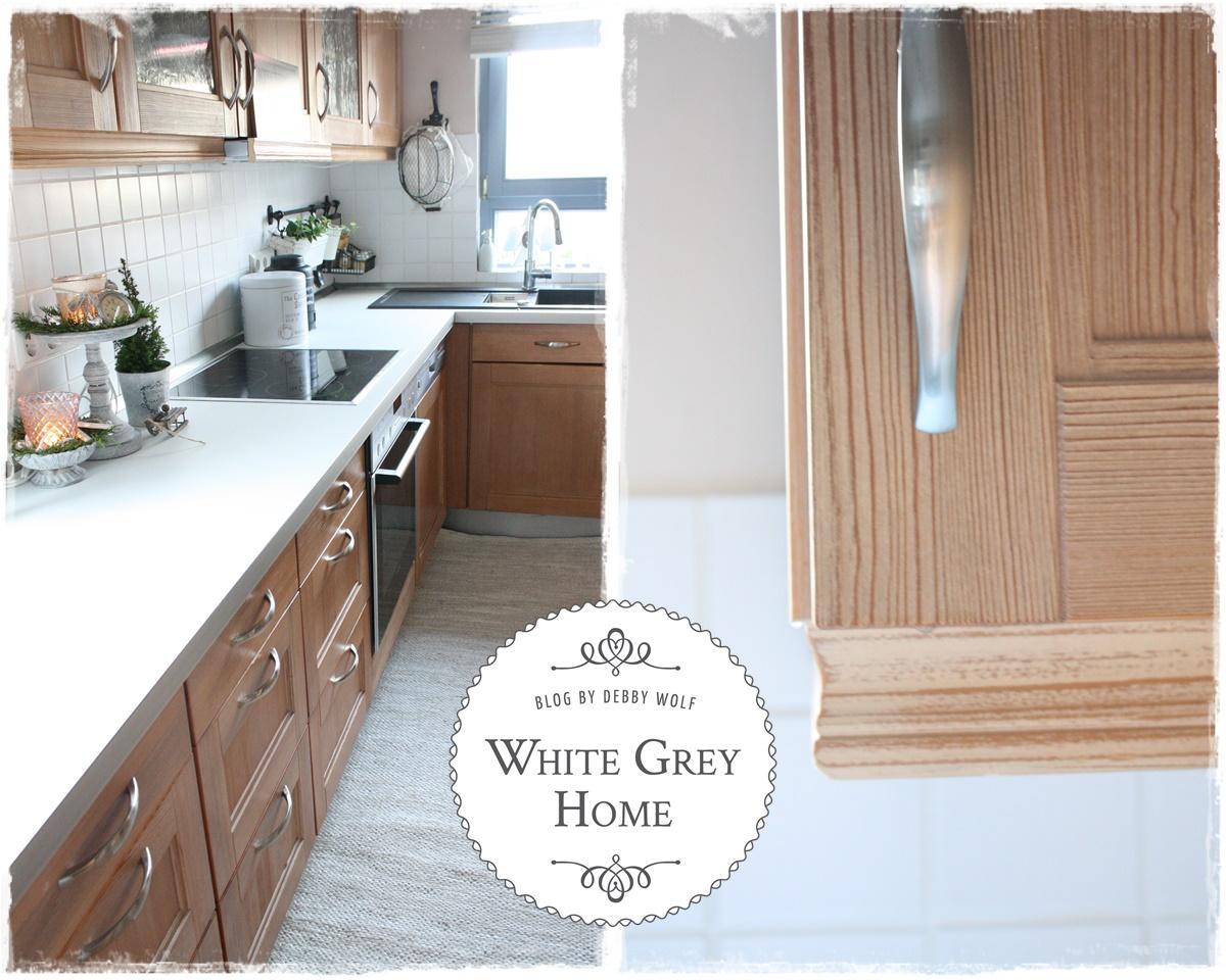 White Grey Home Hometour Kitchen Teil 2