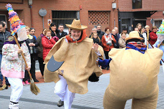 Carnaval vasco de Amaia en Lutxana
