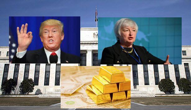 Reserva Federal - Precio del oro