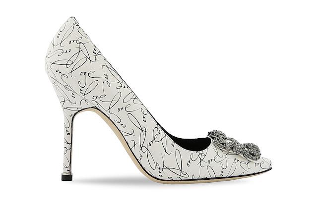 Manolo Blahnik A Decade of Love by fashion blogger Kelly Fountain