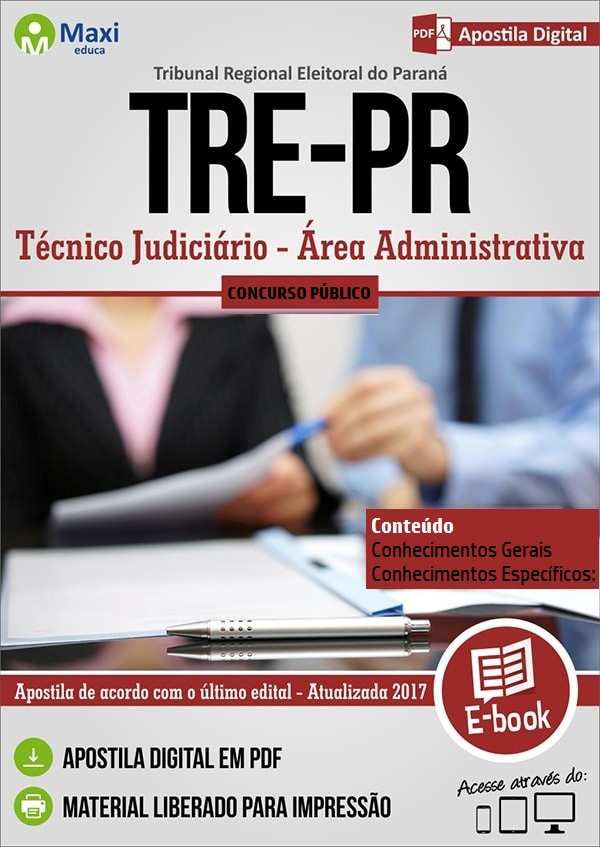 Apostila Tribunal Regional Eleitoral do Paraná - TRE-PR