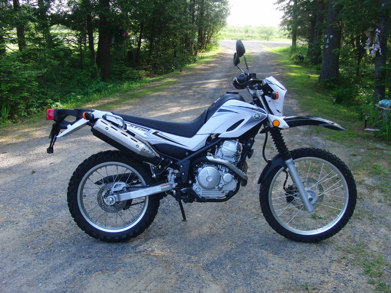Dualsport Diary: For sale: 2008 Yamaha XT250