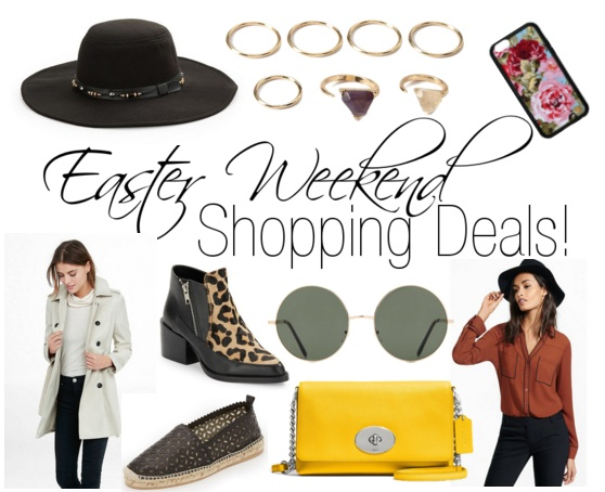 Weekend Shop: Easter Weekend Deals