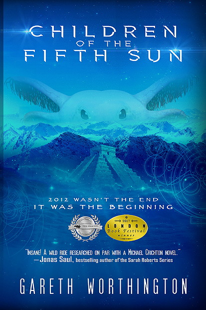 2879f048d1 CHILDREN OF THE FIFTH SUN by Gareth Worthington Trailer Blast and Giveaway