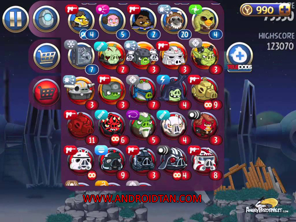Angry Birds Star Wars II Free Mod Apk Money