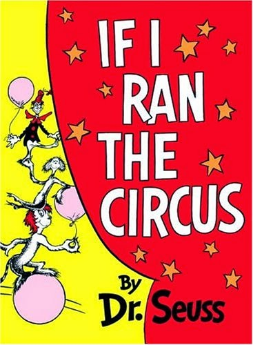 If I Ran the Circus, part of children's book review list about the circus