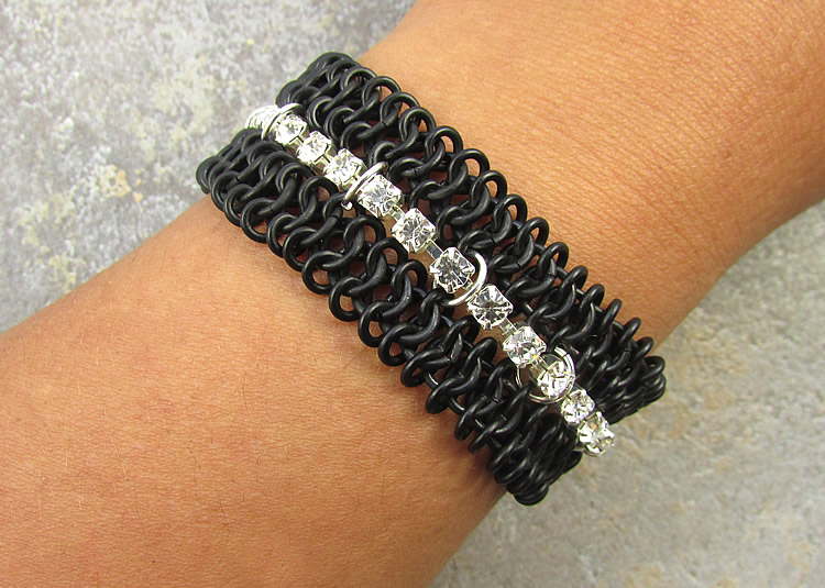 Faux And Real Chain Maille Bracelet Tutorials