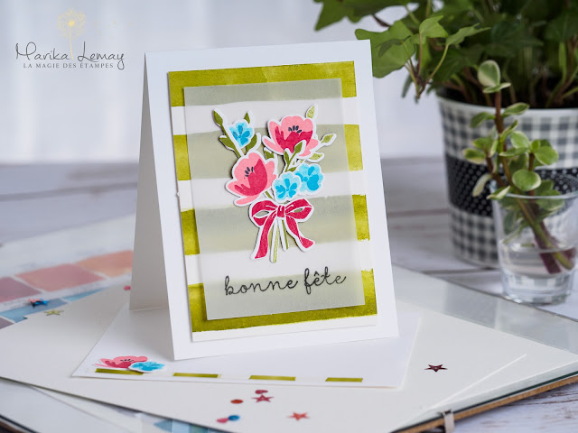 carte petit pot d'amour Stampin' Up!