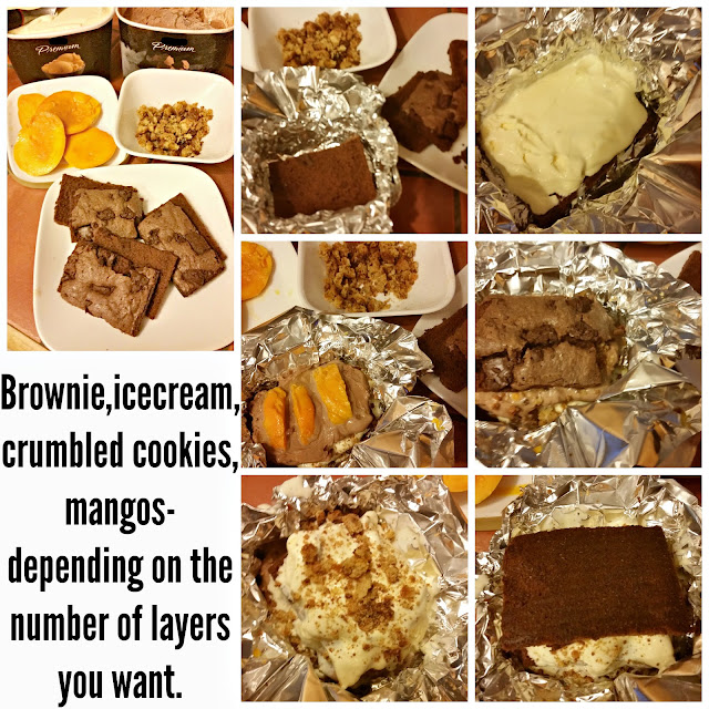 Nestle Tollhouse Baking Mix Cookies Brownie Icecream cake