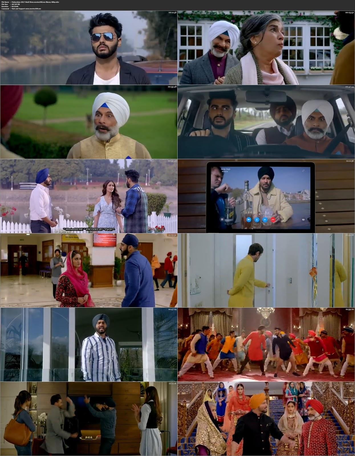 Mubarakan 2017 Bollywood 400MB BluRay 480p ESUbs