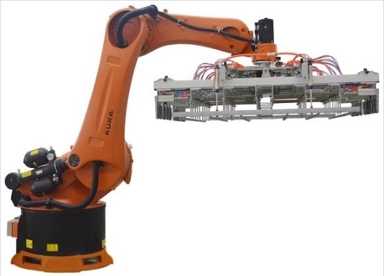 Robot xếp gạch tự động hóa Kuka