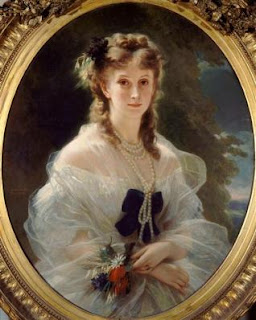 Portrait de la duchesse de Morny, née Sophie Troubetskoï