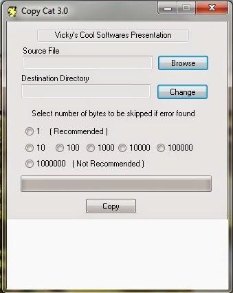 Copy Cat 3.0 - Ανακτήστε αρχεία από γδαρμένα CD/DVD και χαλασμένους σκληρούς δίσκους
