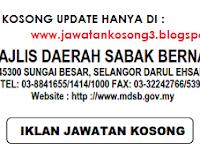 Jawatan Kosong Kerajaan MDSB 14 Disember 2016