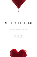 cover of BLEED LIKE ME by C.Desir