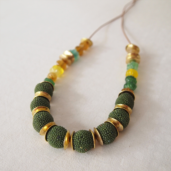 bohemian necklace luibeads