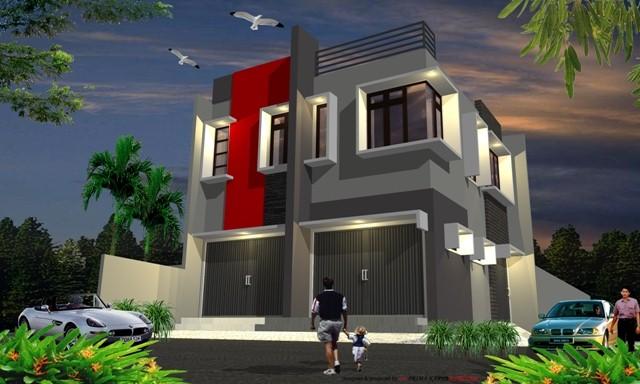 model rumah dan toko 1