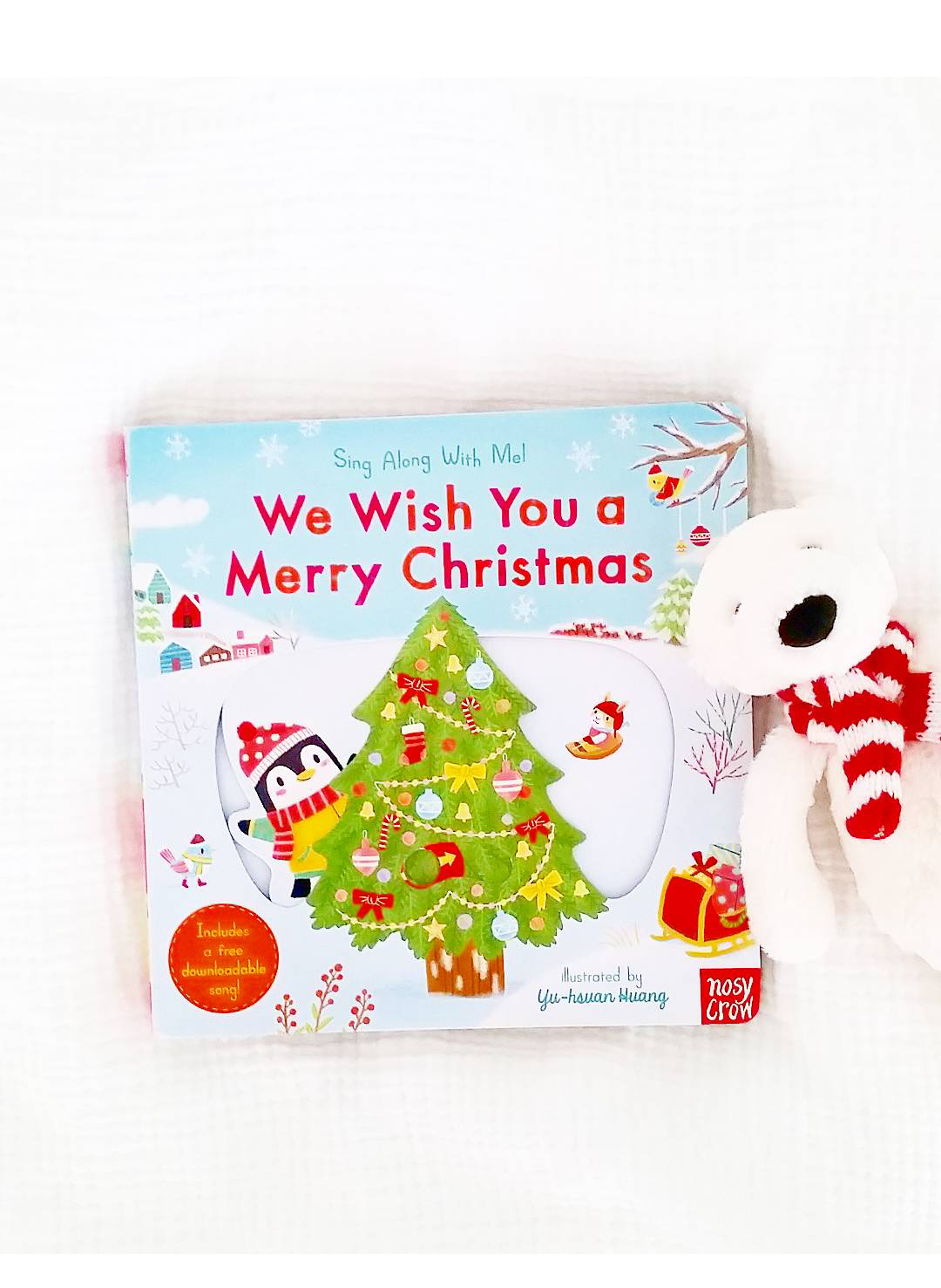 We Wish You a Merry Christmas: Sing Along With Me Giveaway!