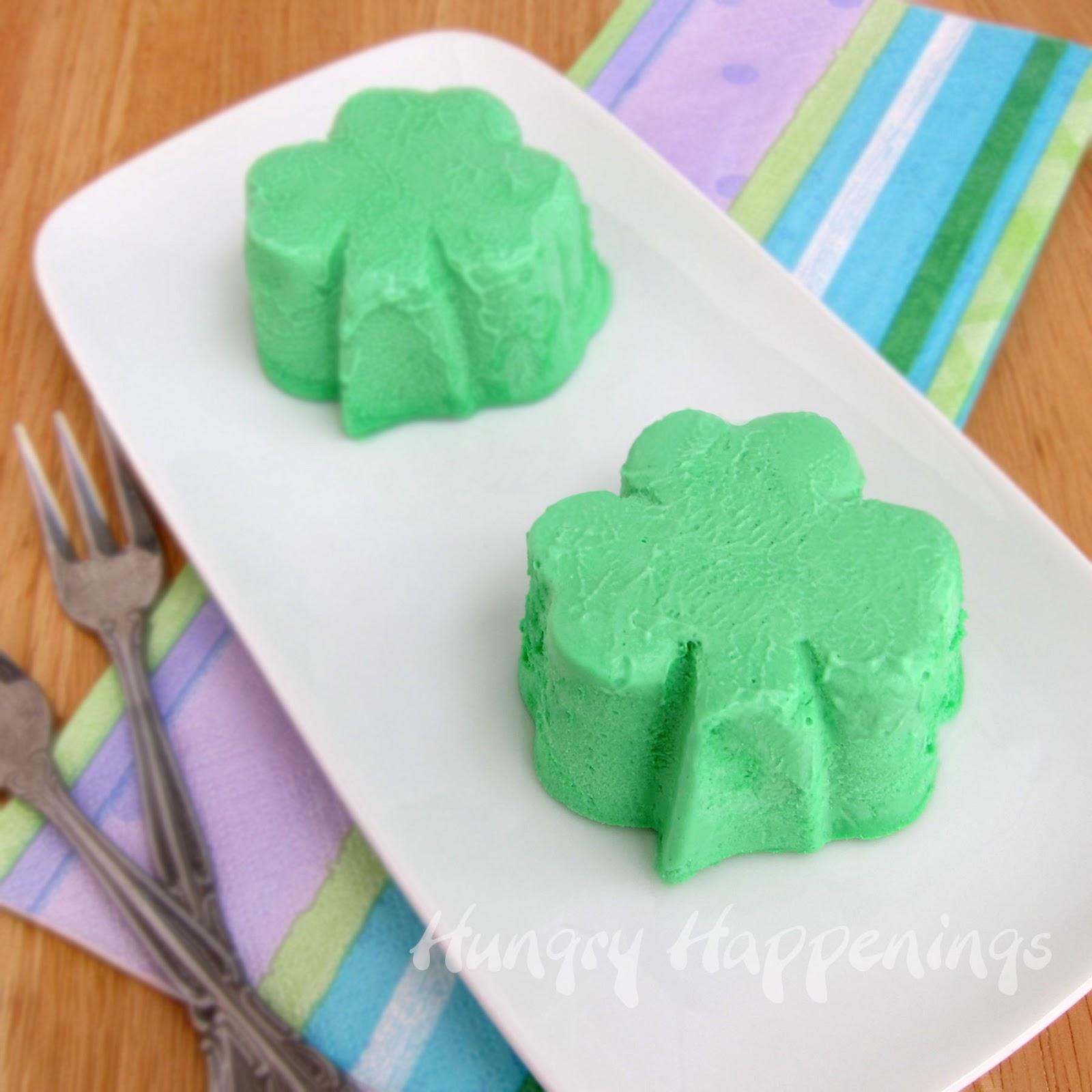 St Patrick S Day Breakfast She Brooke: Double Chocolate Creme De Menthe Fudge Shamrocks