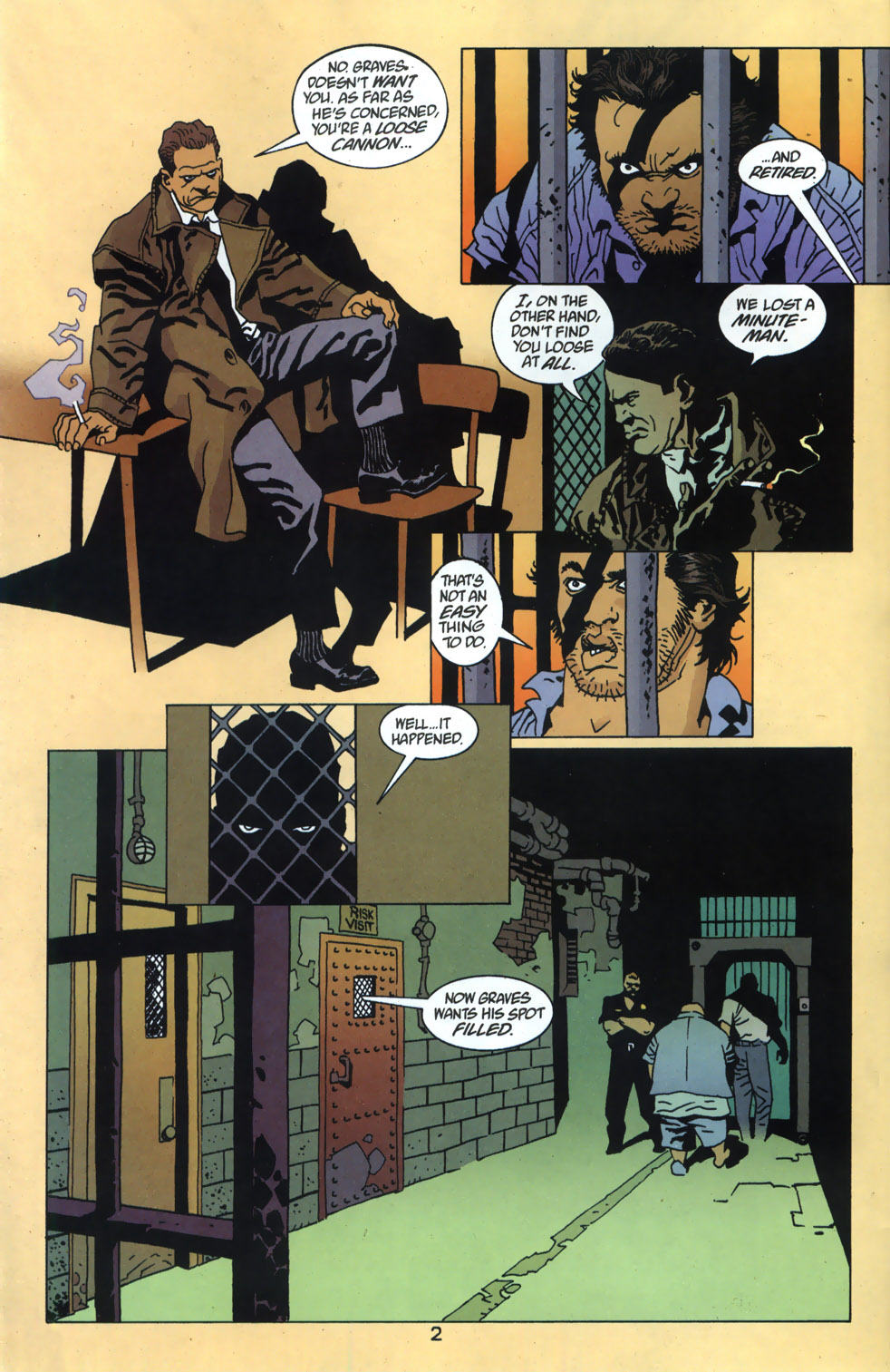 Read online 100 Bullets comic -  Issue #46 - 3