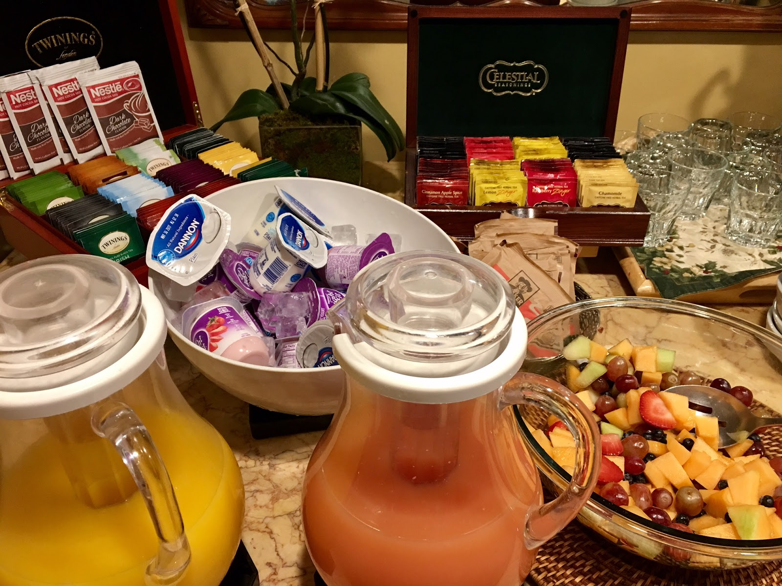 Hotel Elysee Complimentary Breakfast