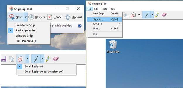 كيفية التقاط لقطة شاشة على جهاز كمبيوترنظام ويندوز