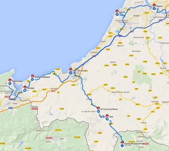 RutaFrancia y los pirineos atlanticos. 6 rutas lowcost en coche