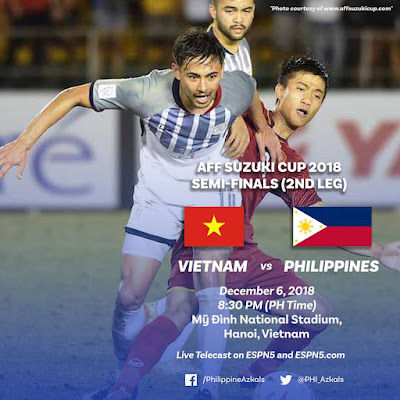 Live Streaming Vietnam vs Philippines AFF Suzuki 6.12.2018