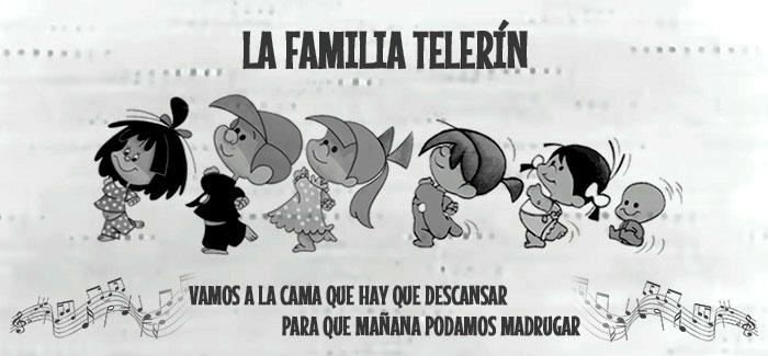 La Familia Telerín - Vamos a la cama