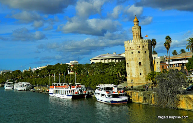 Torre do Ouro, Sevilha, Andaluzia