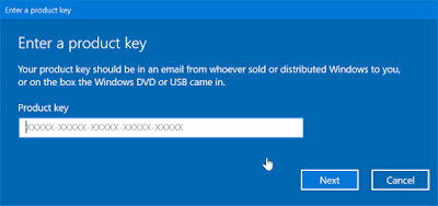 How to Activate Windows 10 ?