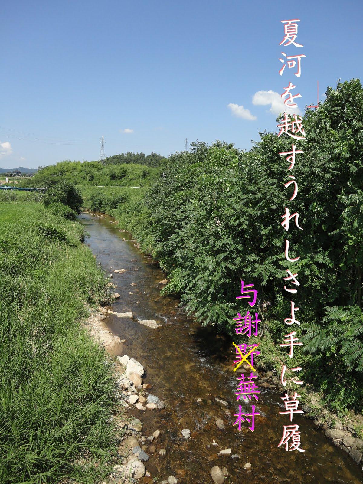 与謝蕪村の夏 与謝野郡加悦町 | LAST TANGO IN 丹後