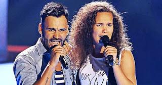 Manu y Eli cantan El Mundo de Pablo López - la voz