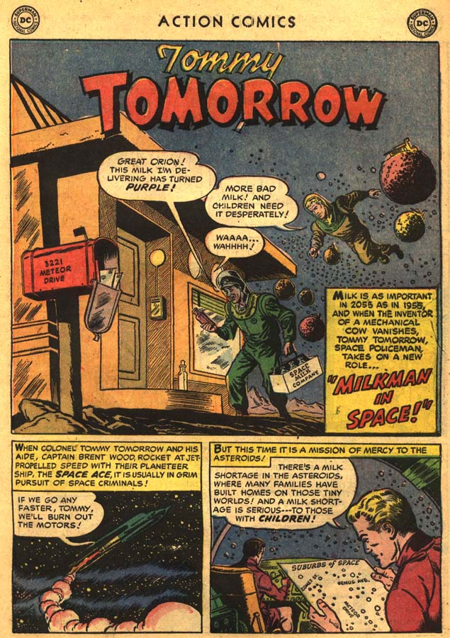 Read online Action Comics (1938) comic -  Issue #201 - 27