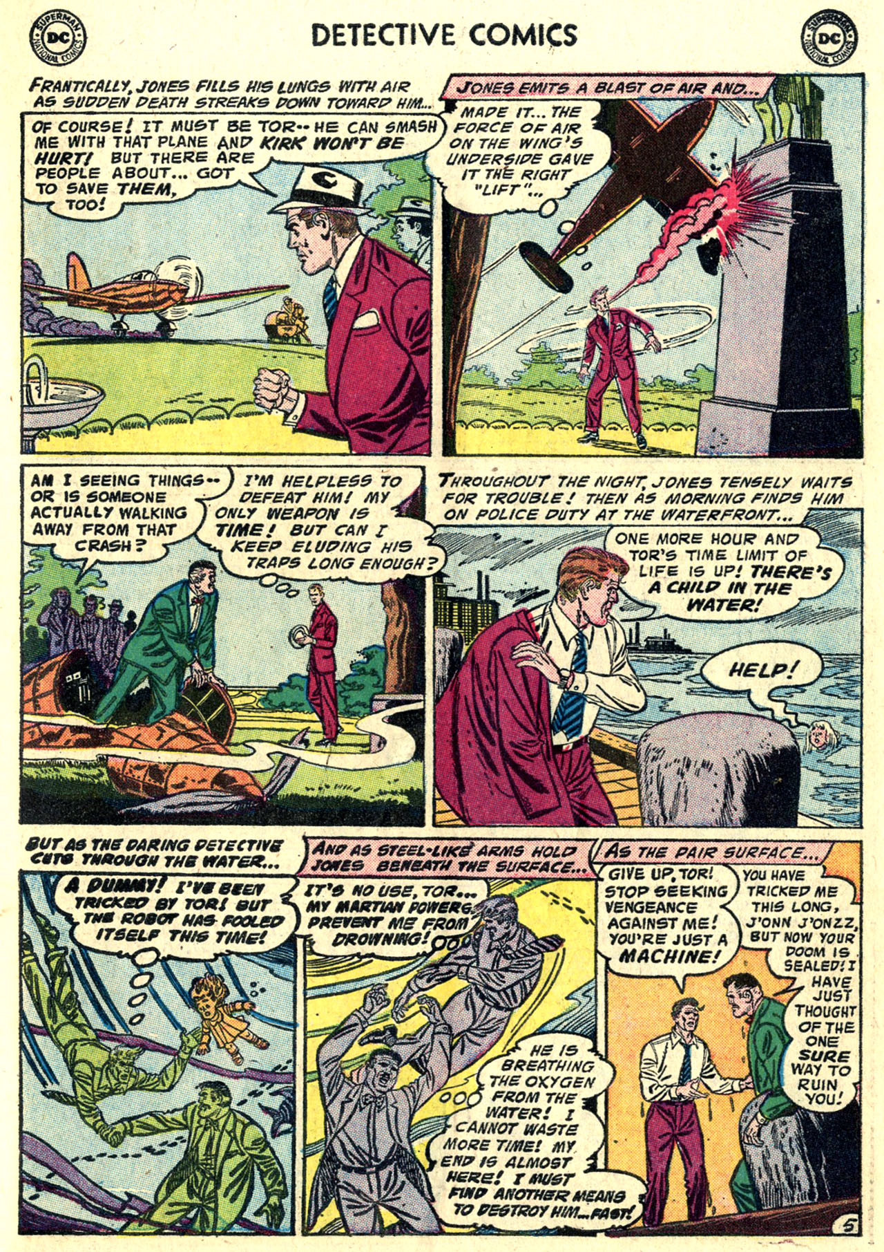 Read online Detective Comics (1937) comic -  Issue #243 - 31