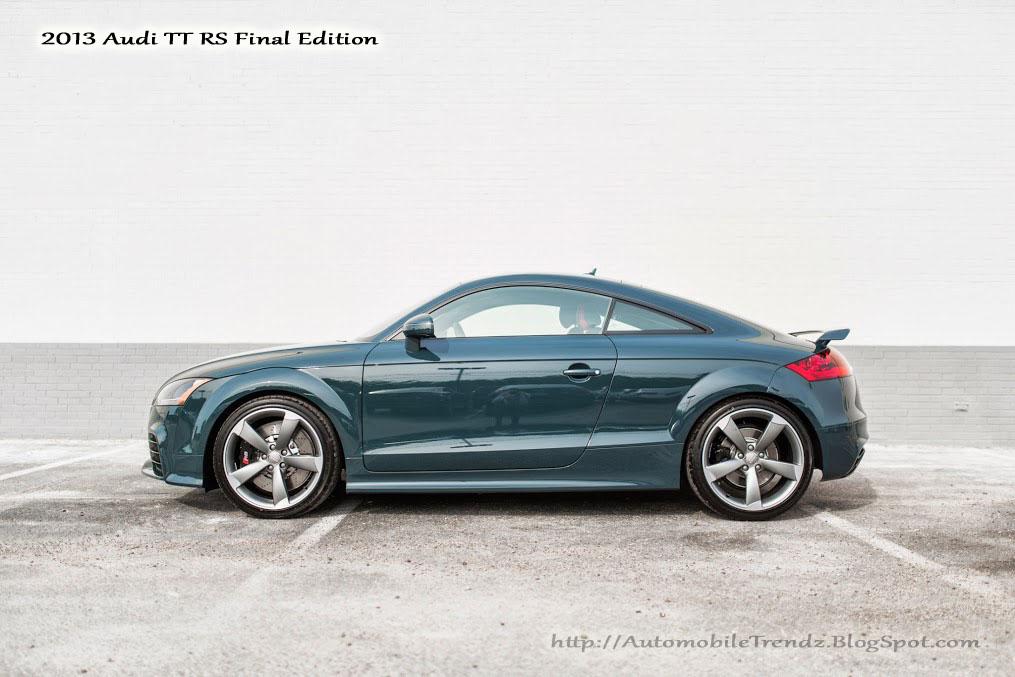 Automobile Trendz 2013 Audi Tt Rs Final Edition