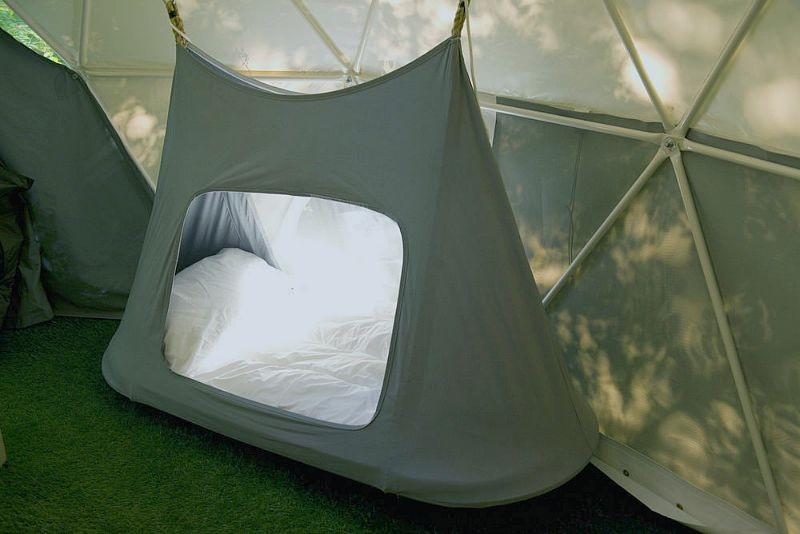 glisten camping hanging beds