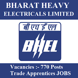Bharat Heavy Electricals Limited, BHEL, Tamil Nadu, TN, 10th, ITI, Trade Apprentice, Apprentice, Sarkari Naukri, Latest Jobs, freejobalert, Hot Jobs, bhel logo