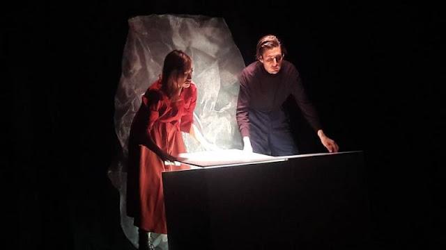 Η θεατρική παράσταση «Σολωμός» στη Μικρή Σκηνή του Δημοτικού Θεάτρου Κέρκυρας