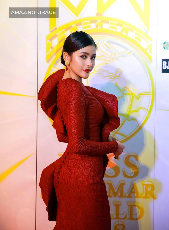 L Bauk Nu Fashion - Attending Miss Myanmar World 2018 Event