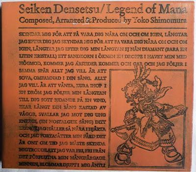 Legend of Mana OST - Funda cartón delante