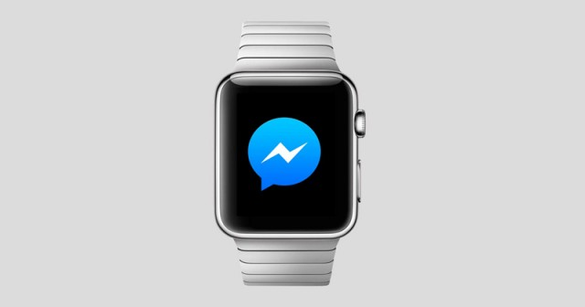 Facebook Messenger is updated and arrives at Apple Watch