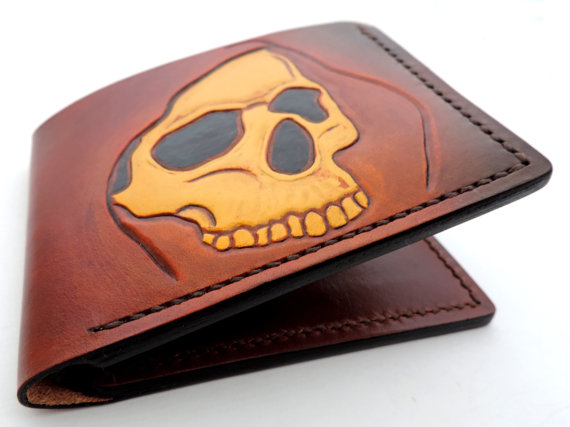 the series also included the bucranium buffalo skull wallets presented previously for more project visit the facebook page piele sculptata carved