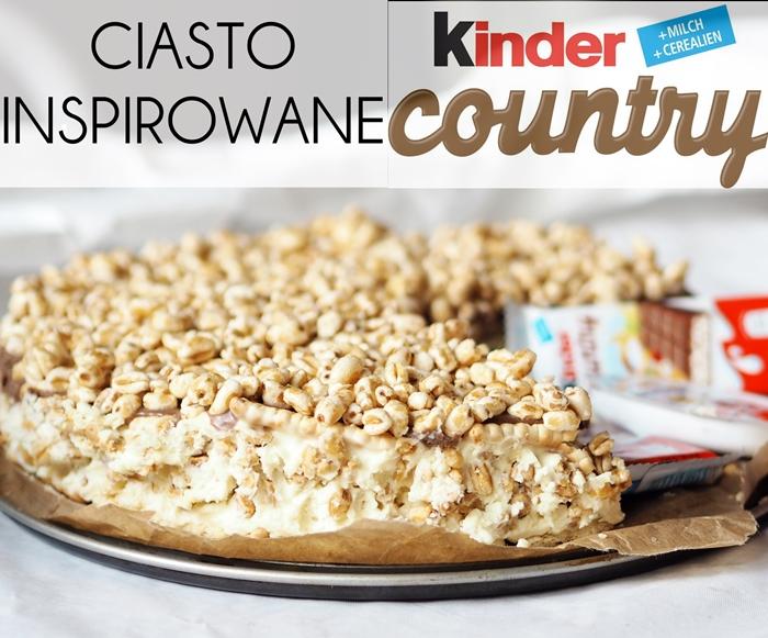 Ciasto kinder country - przepis