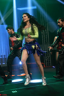 Sunny Leone Dancing on stage At Rogue Movie Audio Music Launch ~  124.JPG