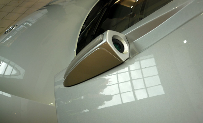 Volkswagen XL1 door camera