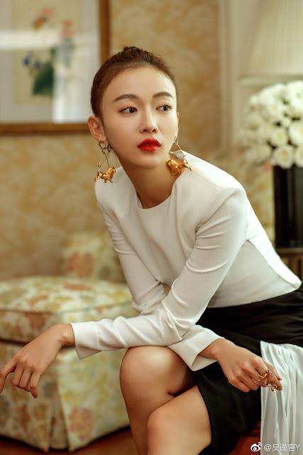 Givenchy Wu Jinyan Story of Yanxi Palace