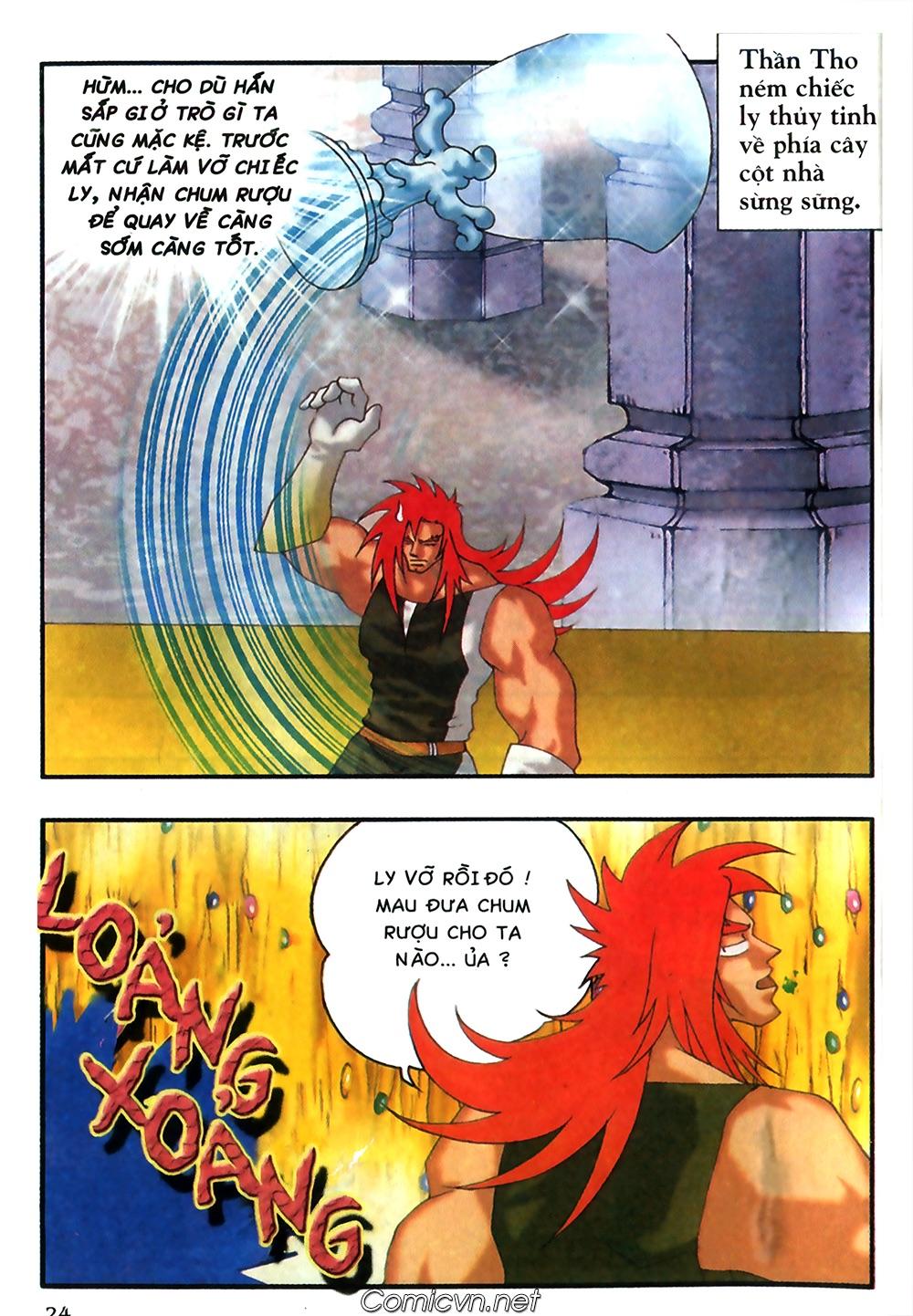 Thần thoại Bắc Âu - Chapter 37: Lão cha dượng xấu tính - Pic 25